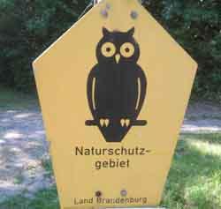 Ausreitgelände Biosphärenreservat Schorfheide- Chorin