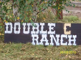 Double C Ranchschild